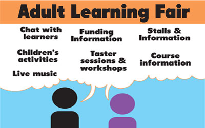 Adult Learning Fair in Dalkeith