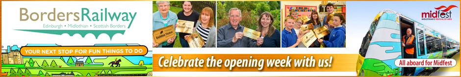 Borders Railway - Celebrate the opening week with us!