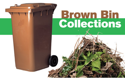 Seasonal brown bin collections start up again
