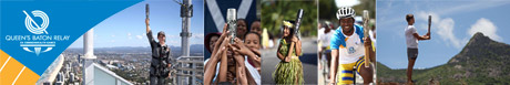 Queen's Baton Relay - images of its journey from around the world