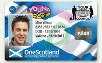 Young scot card.
