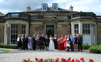 Wedding at Fairfield house.