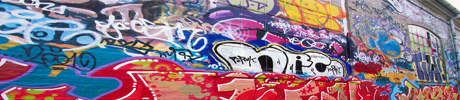 An image of graffiti