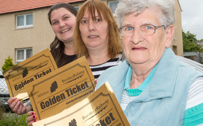 Golden ticket winners all set for Saturday