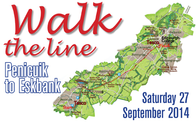 Walk the line - Penicuk to Eskbank
