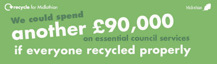 We could spend another £90k on services if everyone recycled properly