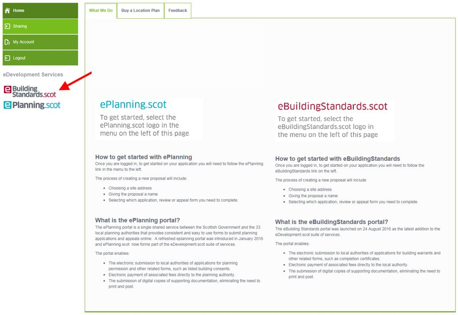 Select ebuilding standards link