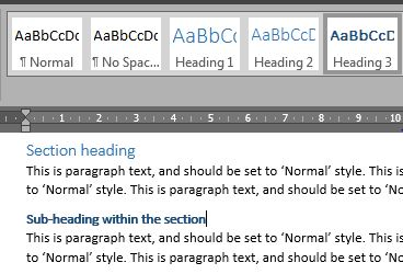 Accessible pdfs style h3