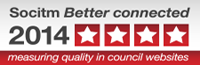 Four star award for Better Connected 2014.