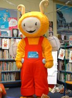 Image of Bookbug at the library