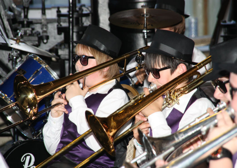 NMMS brass band event YOYP 2018