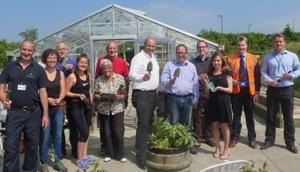 The development of Midlothian Community Hospital Garden has been a real team effort.