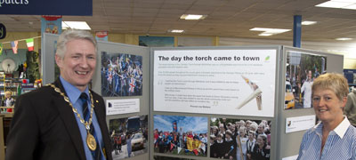 provost launches Olympic exhibition
