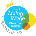 Midlothian Council shortilsted for Living Wage Awards 2018