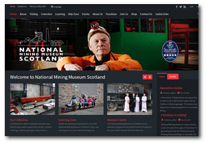 National Mining Museum web page