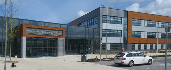 Newbattle Community Campus exterior