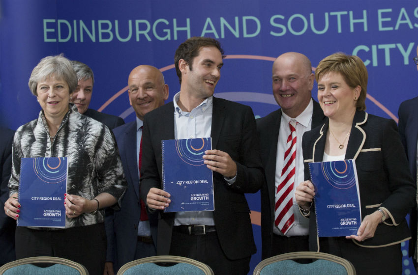 Edinburgh City Region Deal partners officially sign agreement