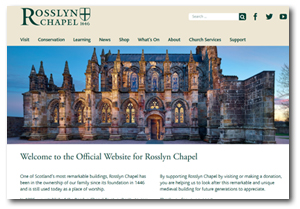 Rossslyn Chapel website