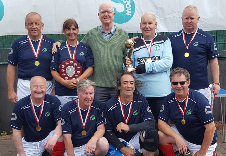 Walking football team from Midlothian win Scottish Cup