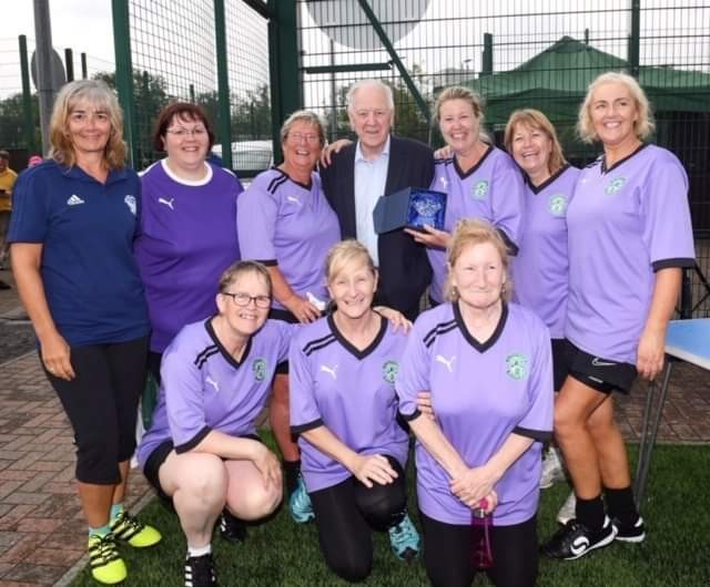 Walking Football Fair Play winners 2019