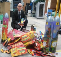 £1500 of illegal fireworks