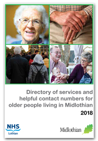 Directory of services for older people in Midlothan 2018 cover