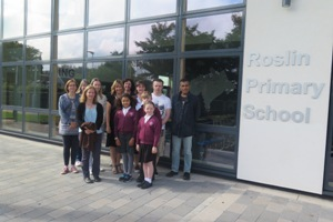Pupils and parent council gets preview of new school