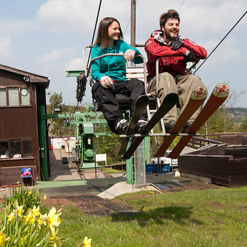Snowsports Centre chairlift