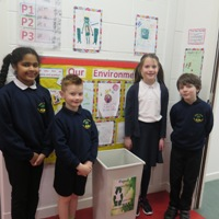 Stobhill pupils in recycling video